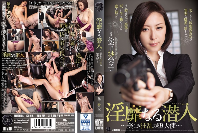 淫靡なる潜入~美しき狂乱の堕天使~ 松下紗栄子 パッケージ画像