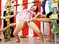 パンチラ&マンチラ盛りだくさん!素人限定!ミニスカくすぐり我慢リンボーダンス! 1