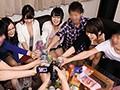イケメンの友人がナンパしてきたホロ酔い極上女子大生たち!やっぱりイケメンの効果は絶大!どんどんエッチな飲み会ゲームが進行していく!