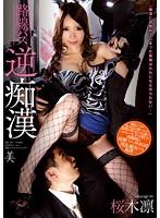 「路線バス逆痴漢 桜木凛」のパッケージ画像