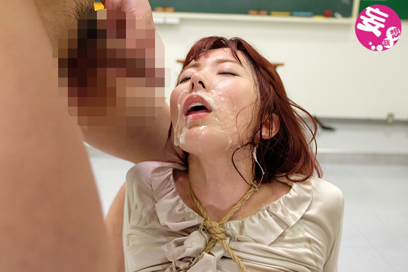 緊縛女教師 恥辱の教室 波多野結衣 の画像1