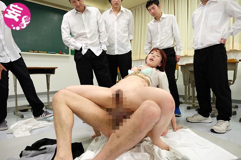 緊縛女教師 恥辱の教室 波多野結衣 の画像2