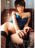 「隣に住んでいる美人若妻 〜誘惑接吻狂い〜 笠木忍」のパッケージ画像
