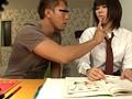 おしえご-授業中、罰でイケナイ性教育- サンプル画像0