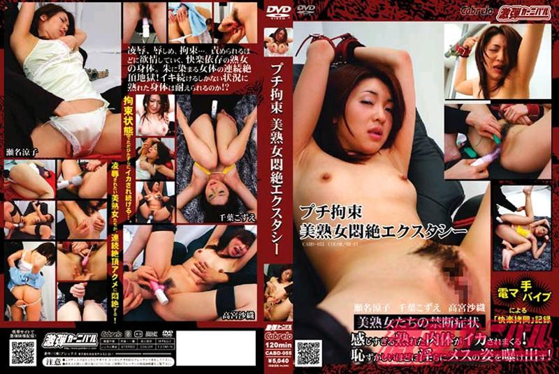 人妻、瀬名涼子出演の辱め無料動画像。プチ拘束・美熟女悶絶エクスタシー