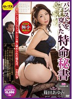 パンストを穿いた特命秘書 黒いパンティーストッキングの奥に秘められた爆乳淫女のお仕事 篠田あゆみ