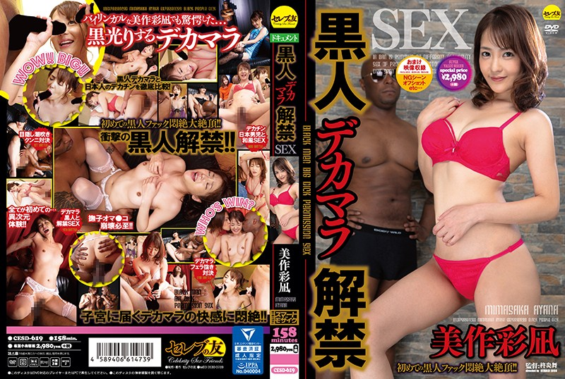 黒人デカマラ解禁SEX 美作彩凪 パッケージ画像