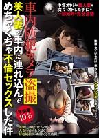 車内防犯カメラ盗撮 美人妻を車内に連れ込んでめちゃくちゃ不倫セックスした件 ダウンロード
