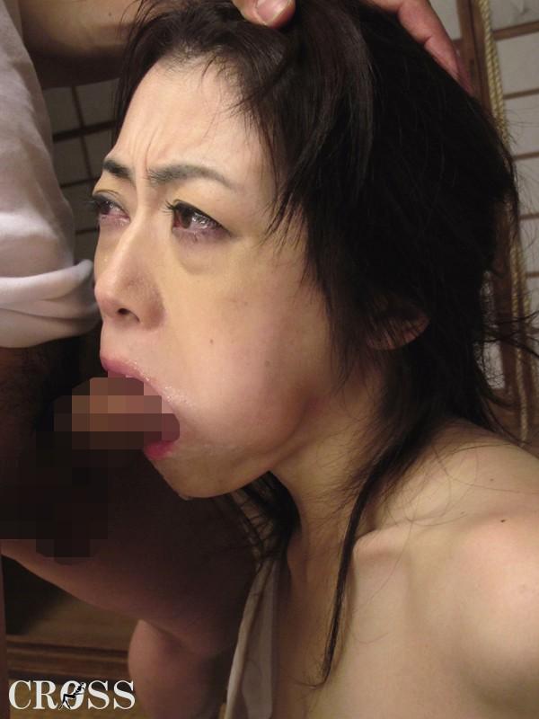 未亡人レイプ 恥辱に染まった喪服美女のそそる肉体 北条麻妃 の画像4