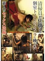 清掃員が仕掛けた個室トイレ内カメラに映った素人のセックス盗撮 ダウンロード