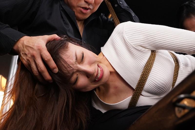 拷虐の潜入隷嬢 素顔が暴かれた瞬間に女はイキ狂う 森沢かな 画像20枚