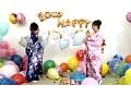 Balloon World あすかとさやかの晴れ着で風船大会 4
