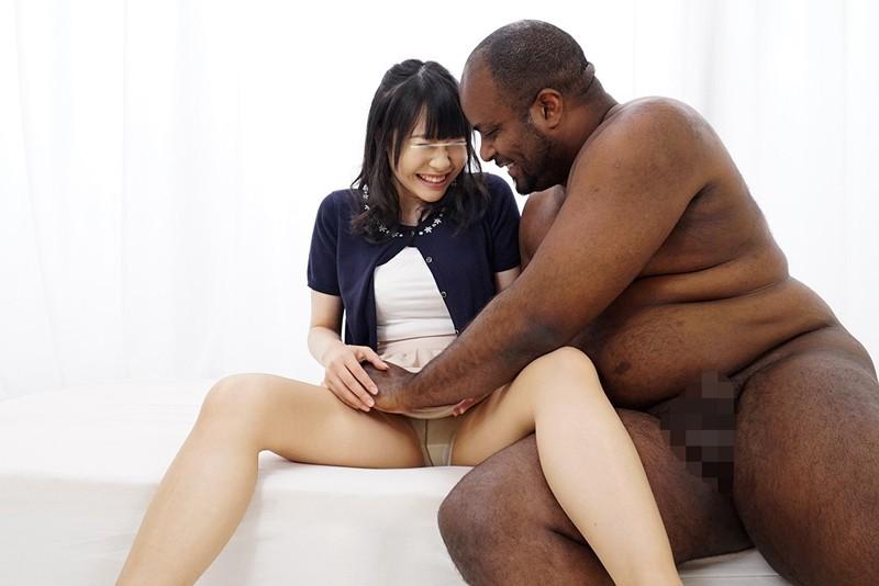 一般黒人男性×素人女子大生 画像10枚