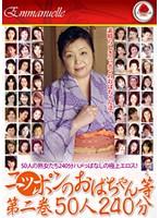 ニッポンのおばちゃん等 第二巻 50人240分 ダウンロード