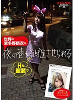 世界の波多野結衣がHな服装で夜の巷を徘徊させられる ダウンロード