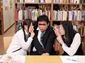 都内某所の図書館でメガネかけた超まじめ女子校生が勉強のストレスを解消する為に男を誘惑してくるんです!しかも爆濡れ即ヤリ状態で中出し目的で 16