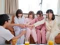 妹&妹の友達のパジャマパーティーで「王様ゲームを教えて欲しい」と言われ実際にやったら命令はどんどんエスカレート!とんでもなくHな事しちゃいました 3