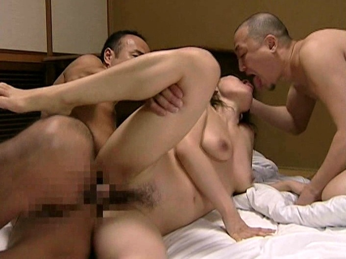 Wife joins orgy