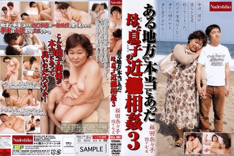 ある地方で本当にあった 母と息子の近●相姦 3 福田奈々子