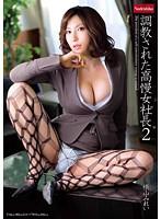 「調教された高慢女社長 2 横山みれい」のパッケージ画像