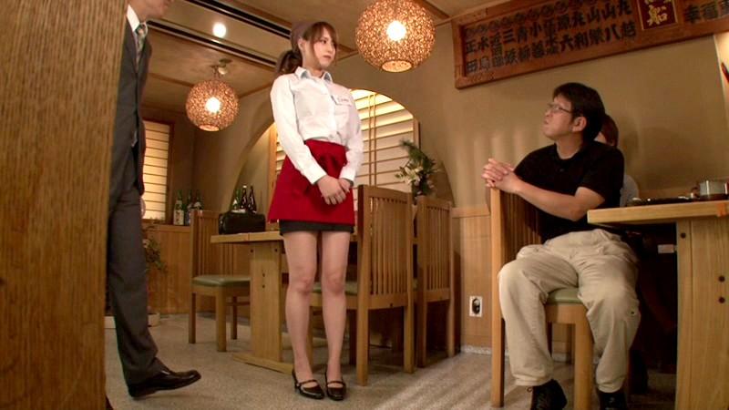 屈辱の全裸居酒屋店長 吉沢明歩 in HD の画像20
