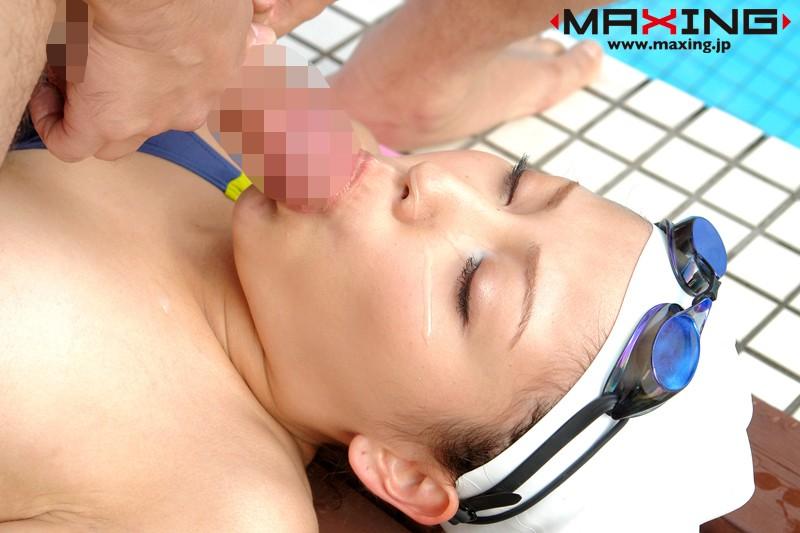 幻の競泳水着×横山美雪 の画像2