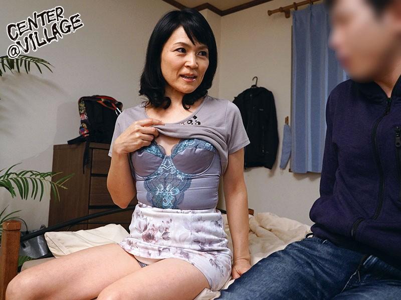 竹宮んちのおばちゃんが勝負下着でこっそり僕を誘惑してきた 竹宮かほりのサンプル画像2
