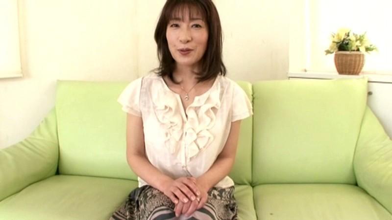 初撮り五十路妻ドキュメント 横峯美佐子 の画像1