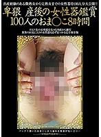 卑猥 産後の女性器鑑賞100人のおま●こ8時間 ダウンロード