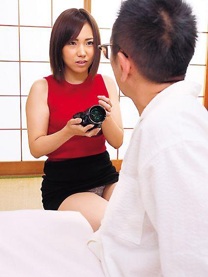 義父の前で絶倫介護ヘルパーに犯される人妻 花崎りこ の画像17