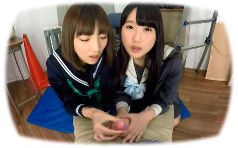 【VR】生意気JKコンビがフェラで童貞チ○ポいじめ2
