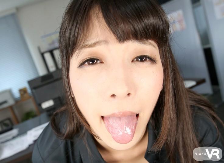 【VR】中里美穂 ローション手コキ 新商品のテストお願い致します。のサンプル画像9
