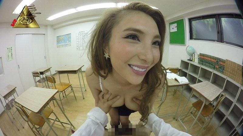 一条リオンの無料動画 【VR】いきなり!ギャル同級生をフェラ抜き