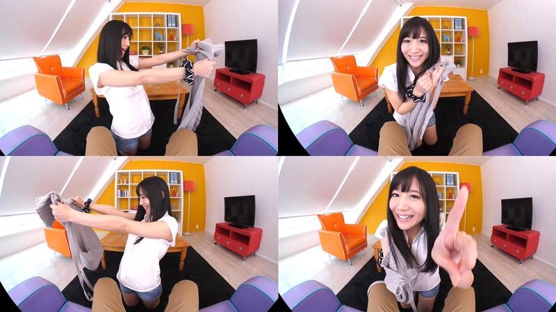 【VR】星奈あい カノジョがあのセーターに着替えたら… かわいさ全開!大興奮中出しSEX! の画像14
