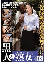 「黒人と熟女 VOL.03」のパッケージ画像