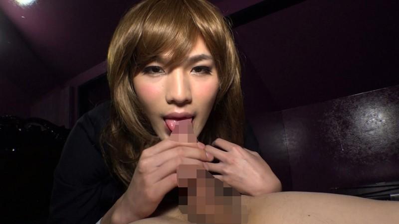 ハイスクールララバイ 女装子TOUMA 即撮AVデビューのサンプル画像012