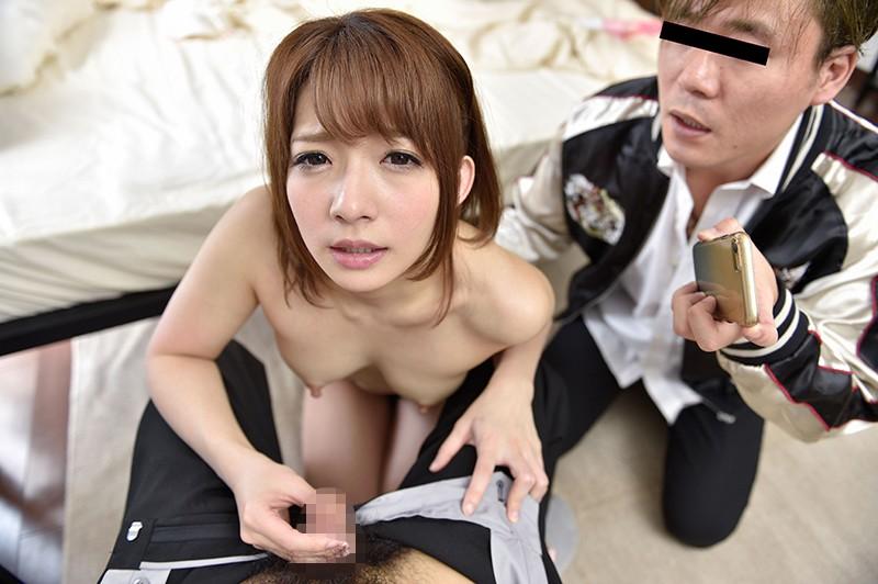 """【エロVR】新感覚のVRでNTRセックス!S級美女""""麻里梨夏""""を公開陵辱!"""