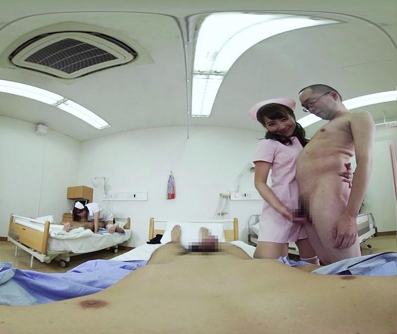 【VR】巷で噂のハレンチ美爆乳ナース中出しSEX病棟 倉多まお 共演:西條るり の画像4