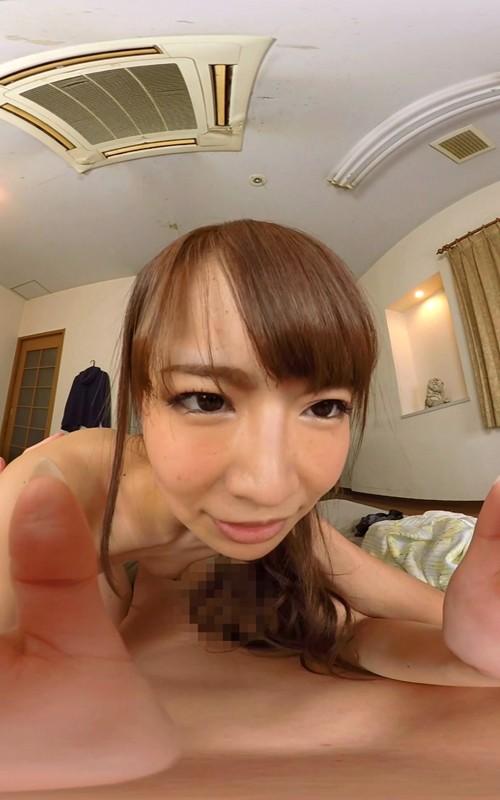 【VR】 長尺VR 僕の家にお泊りに来た彼女と初めてのラブラブ中出しSEX の画像1