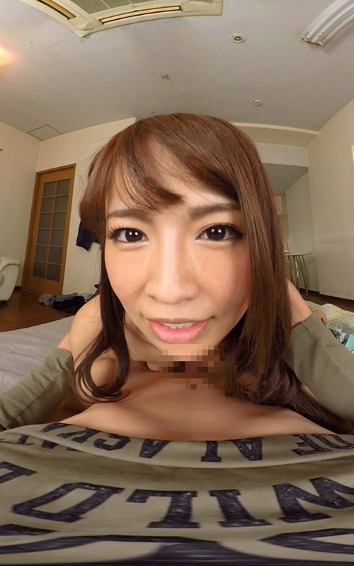 【VR】 長尺VR 僕の家にお泊りに来た彼女と初めてのラブラブ中出しSEX の画像5