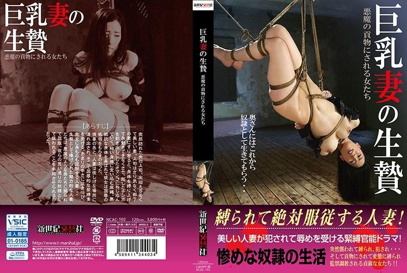 巨乳妻の生贄 悪魔の貢物にされる女たち パッケージ画像