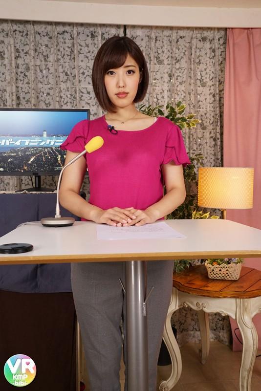 水野朝陽 女子アナ淫語生中継 カメラ目線でオナニーサポートからの生中出しセックス 画像11枚