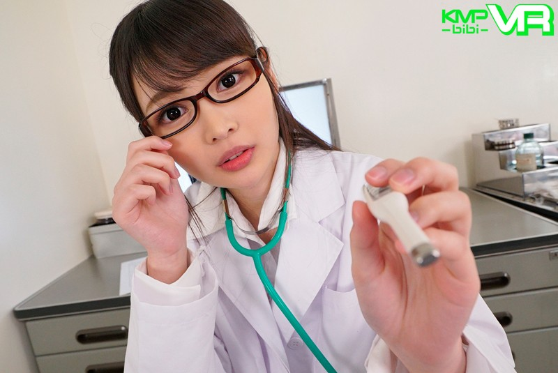 【エロVR】女医に扮した美少女「跡美しゅり」の時を止めて気づかれずに中出しセックス