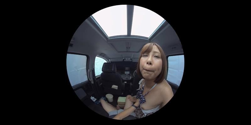 【VR】VR発情女子○生 クソ狭い車内でイヤラシイ身体を貪り合い肉食系カーセックスしまくりました 素人女子○生01ひなた-1