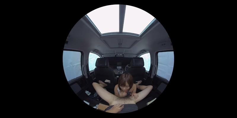 【VR】VR発情女子○生 クソ狭い車内でイヤラシイ身体を貪り合い肉食系カーセックスしまくりました 素人女子○生01ひなた-2