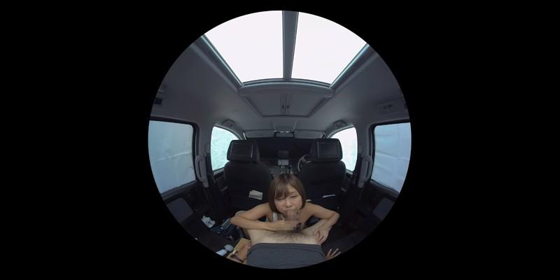 【VR】VR発情女子○生 クソ狭い車内でイヤラシイ身体を貪り合い肉食系カーセックスしまくりました 素人女子○生01ひなた-6