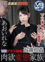 「【VR】ドラマ劇場 近親相姦 肉欲変態家族 あおいれな」のパッケージ画像