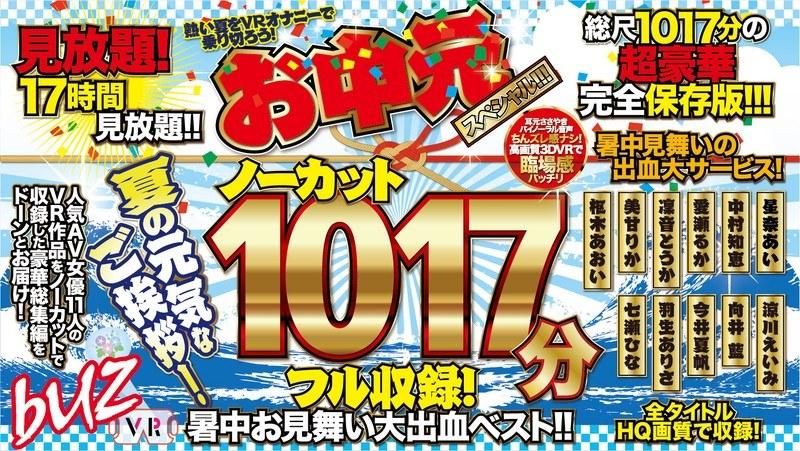 【VR】ノーカット1029分フル収録!暑中お見舞い大出血ベスト!!お中元スペシャル!!! パッケージ画像