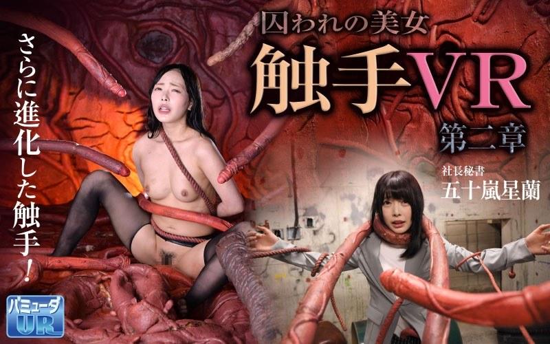 【VR】触手VR 第二章 囚われの美女 社長秘書 五十嵐星蘭 パッケージ画像