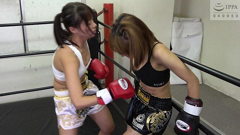 悶絶キックボクシング003 愛里るいvs佐久間恵美 パッケージ画像